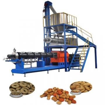 Automatic Continuous Pet Snacks Food/Cat Fish Feed Manufacturing Line/Production Plant/Making Equipment
