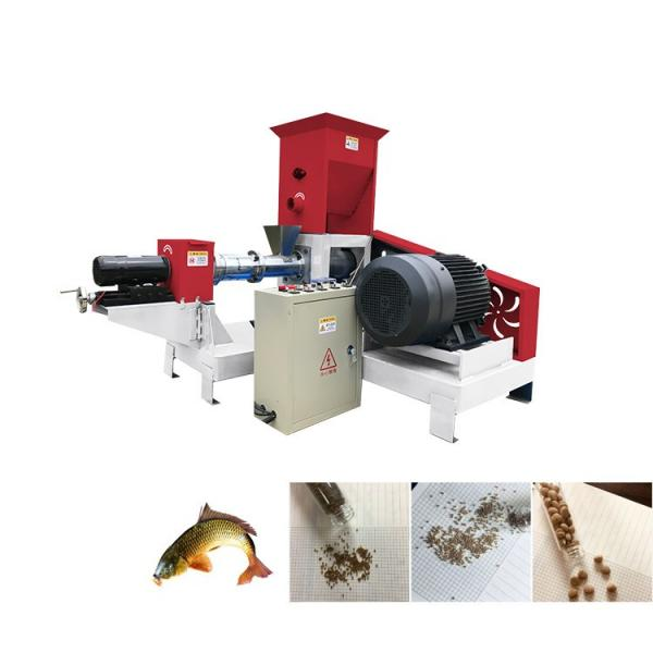 2 Ton/H Extruded Floating Fish Feed Pellet Making Machine Best Price for Sale